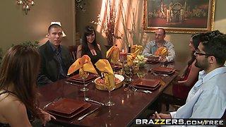 Lisa Ann Mick Blue - Winner Winner Sex during Dinner - Brazzers