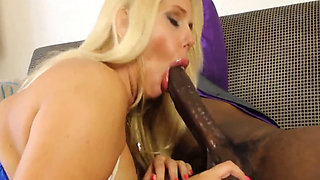BLONDE CHEATING WIFE BBC HOME FUCKING