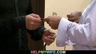 Hot wife rides stranger\'s big meat