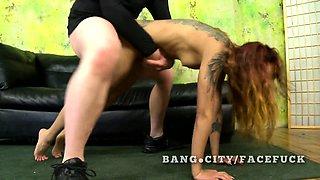 Unique looking asian rough sex