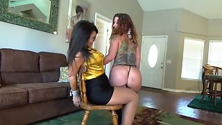 lezdom stripper's humiliation