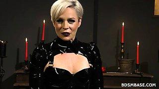 Mistress Helena Face Sitting Sub Dude