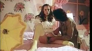 German classic porn video with capricious spoiled young sluts