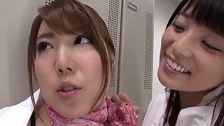 Japanese lez kissing censored