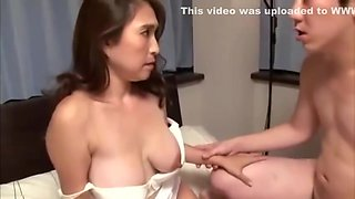 Step Son wants to cum in step mom too