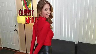 Chrissy Marie Tricked and Tied Up