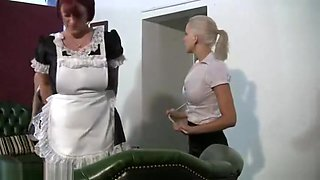 Bad Maids Spanked