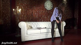 Seamed and seamless pantyhose review by Jeny Smith
