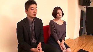 Fabulous Japanese slut Kanako Iioka, Ria Natsuki, Neo Kazetani in Horny Lingerie, Striptease JAV video