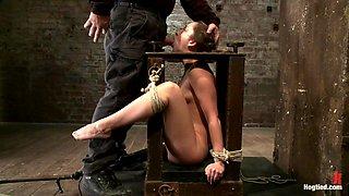 She Barely Endures Her Hardcore Punishment