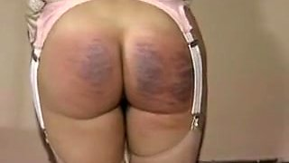 Incredible homemade BDSM, Spanking adult clip