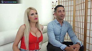Blanche Summer and Tiffany Rousso enjoying swingers