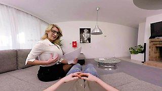 Busty Teacher Katerina Hartlova Seduce And Suck Student