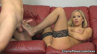 Codey Steele & Olivia Austin in Busty Beauty Olivia LIVE - CherryPimps