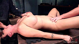 Big Tit MILF Faces Her Fears to Get Dick - TheTrainingofO
