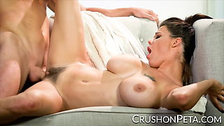 CrushGirls - Busty Peta Jensen knows how to milk a cock