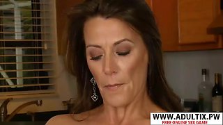 Adorable stepmom mimi moore wants to fuck well young step son