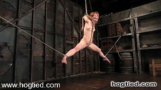 Madison Young in Madison Young Is One Of The Toughest Bondage Models On The Planet. - HogTied