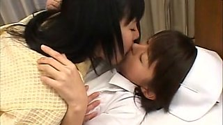 Exotic Japanese slut Konomi Sakura, Ai Himeno in Best Lesbian, Nurse JAV movie