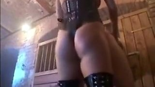 Incredible homemade Femdom, Strapon sex video