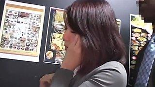 Drunk Japanese businesswoman loves BBC