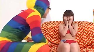 subtitled enf cmnf Japanese Vibrator game with miyuki Hourai