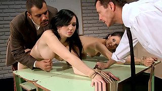 Slave Babes Humiliated And Dominated Over