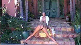 Vintage sex goddess Tera Patrick needs a cock inside her butthole