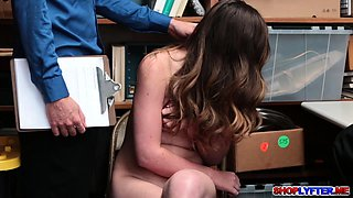Lexi Gets A Threesome Pleasure As Punishment