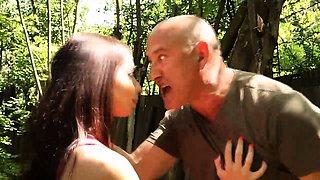 Innocent Chandra threaten by old marine