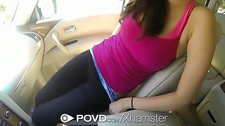 POVD - Car slut Holly Michaels is fucked in the trunk