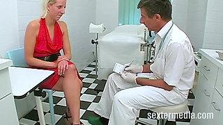 Pee Probe beim Doktor