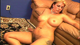 Joclyn Stone Gets Her Hairy Twat Railed By A BBC