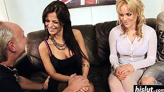 Sexy sluts like to get bonked hard