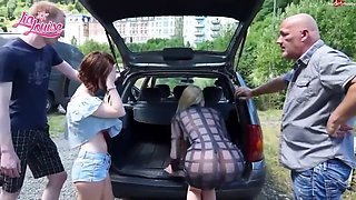 Lia louise perverse family outing