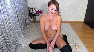 JOI with Squirting dildo