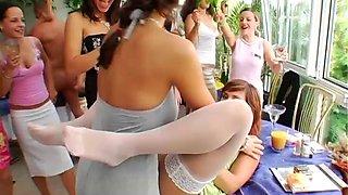 Wedding celebration with Tatiana Milovani and other dick lovers