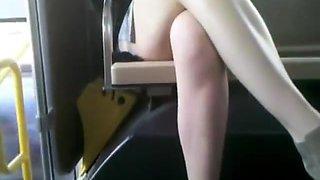 Bus Cam 1: Short Skirt Honey