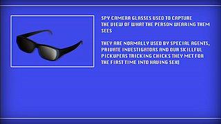 Fucking Glasses - Zoey Foxx - Nice fuck via spy cam glasses