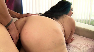 BBW Mia Riley Takes Cock in Her Huge Ass