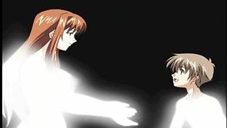 Cute Anime Futanari Titfuck With Cumshot