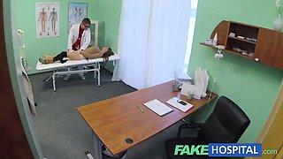 Fake Hospital Doctor prescribe good licking and hard fucking