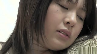 Fabulous Japanese chick in Crazy Uncensored, Blowjob/Fera JAV movie