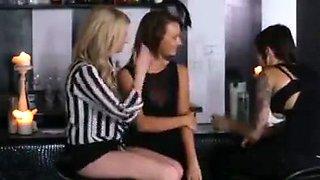 Lesbian Couple Seduce Girl