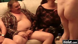 Smoking hot babes have fun with cocks
