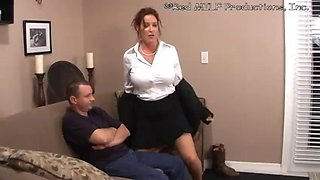 Milf 181 son says mom can&#39t suck a cock