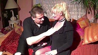 German Huge Tit Milf Seduce To Fuck When Husband Away