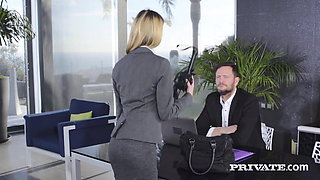 Private.com - Hot Young Rebecca Volpetti Anal Banged By Boss