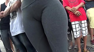 Young thighs gap and cameltoe
