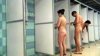 Two Hidden Shower Scenes Make One Very Good Voyeur Video